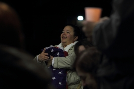 Vigil_FlagWoman_1